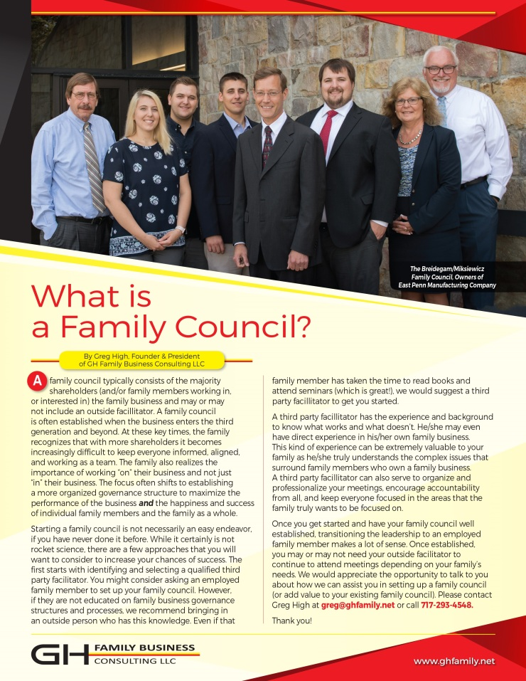 GHFB_LLC_What is a Family Council Apr 2019