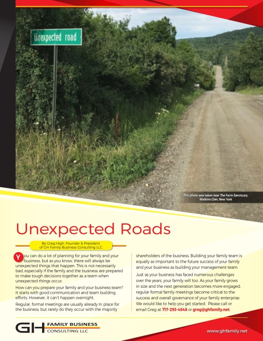 GHFB_LLC_Unexpected Roads Sept 2019